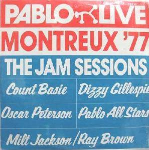 Montreux '77 The Jam Sessions - Cover