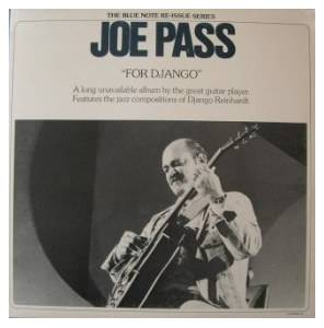 Cover - Joe Pass: For Django