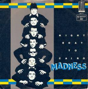 Madness: Night Boat To Cairo - Cover