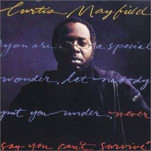 Cover - Curtis Mayfield: Never Say You Can't Survive