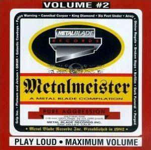 Metalmeister Volume #2 - A Metal Blade Compilation - Cover