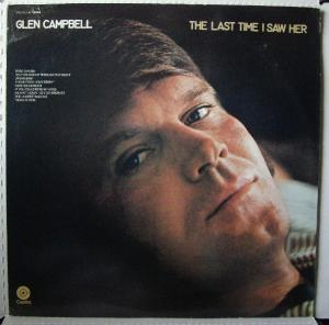 Glen Campbell: Last Time I Saw Her, The - Cover