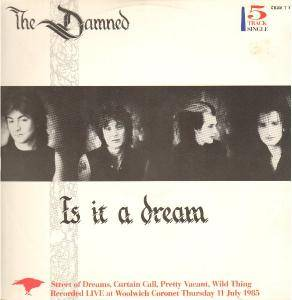 The Damned: Is It A Dream - Cover