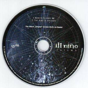 Ill Niño: March Against Me / The Alibi Of Tyrants - Cover