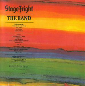 Cover - Band, The: Stage Fright