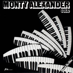 Monty Alexander: Solo - Cover