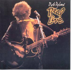 Bob Dylan: Real Live - Cover