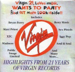 Cover - Jesus Loves You: 21st Anniversary: Highlights From 21 Years Of Virgin Records