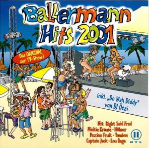 Cover - Bosson: Ballermann Hits 2001