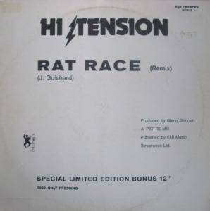 Hi-Tension: Rat Race - Cover