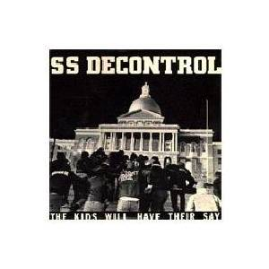 SS Decontrol: Kids Will Have Their Say, The - Cover