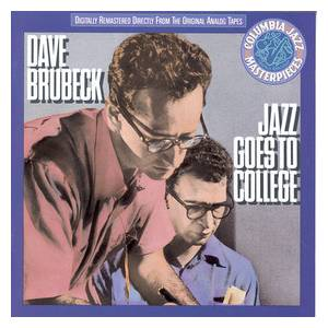 The Dave Brubeck Quartet: Jazz Goes To College - Cover
