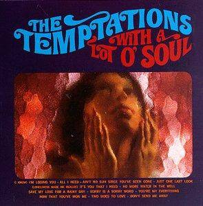 The Temptations: With A Lot O' Soul - Cover