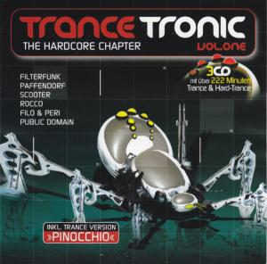 Trance Tronic Vol. One (The Hardcore Capter) - Cover