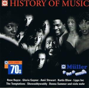 Cover - Various Artists/Sampler: History Of Music - 70s Volume 1