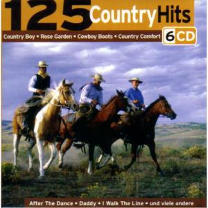 125 Country Hits - Cover