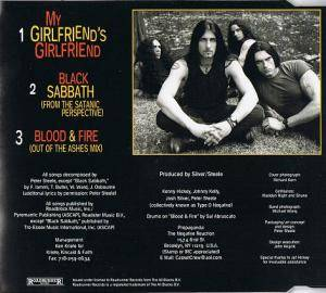 Type O Negative: My Girlfriend's Girlfriend (Single-CD) - Bild 2