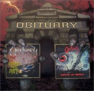 Obituary: Slowly We Rot / Cause Of Death (2-CD) - Bild 1