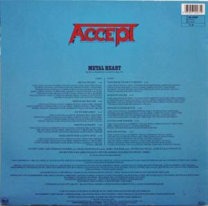 Accept: Metal Heart (LP) - Bild 2