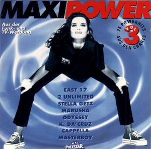 Cover - Natascha Wright: Maxi Power Vol. 3