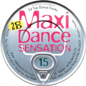 Cover - TN'T Party Zone: Maxi Dance Sensation 15