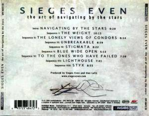 Sieges Even: The Art Of Navigating By The Stars (CD) - Bild 3