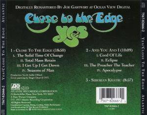 Yes: Close To The Edge (CD) - Bild 3