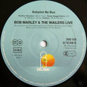 Bob Marley & The Wailers: Babylon By Bus (2-LP) - Bild 3