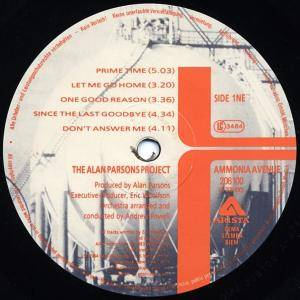 The Alan Parsons Project: Ammonia Avenue (LP) - Bild 2