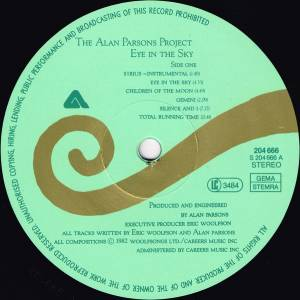 The Alan Parsons Project: Eye In The Sky (LP) - Bild 3