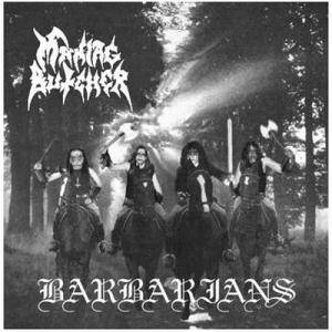 Maniac Butcher: Barbarians - Cover