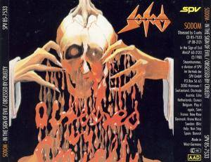 Sodom: In The Sign Of Evil / Obsessed By Cruelty (CD) - Bild 5
