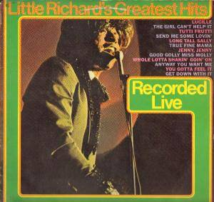 Little Richard: Little Richard's Greatest Hits - Cover