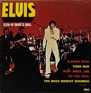 Elvis Presley: King Of Rock'n Roll - Cover