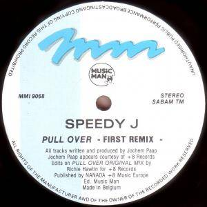Cover - Speedy J: Pullover