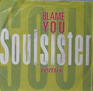 Cover - Soulsister: Blame You