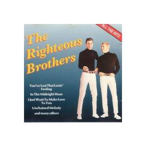 The Righteous Brothers: All The Hits - Cover