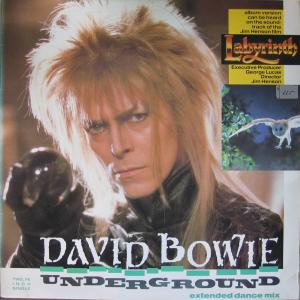 David Bowie: Underground - Cover