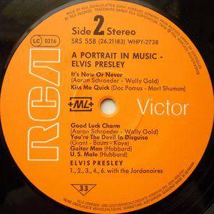 Elvis Presley: A Portrait In Music (LP) - Bild 4