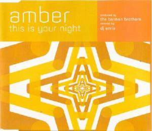 Cover - Amber: This Is Your Night