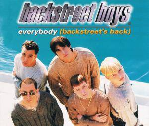 Backstreet Boys: Everybody (Backstreet's Back) - Cover
