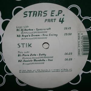 Cover - DJ Vortex: Stars E.P. Part 4