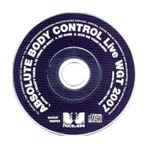Cover - Absolute Body Control: Live WGT 2007