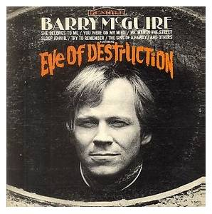 Barry McGuire: Eve Of Destruction - Cover