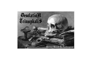 Desolation Triumphalis: Forever Bound To Nothingness - Cover
