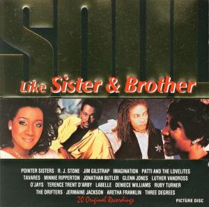 Cover - Various Artists/Sampler: Like Sister And Brother