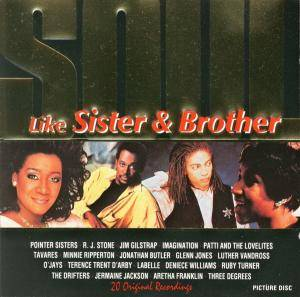 Cover - R&J Stone: Like Sister And Brother