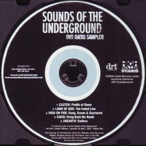 Sounds Of The Underground DVD Radio Sampler - Cover