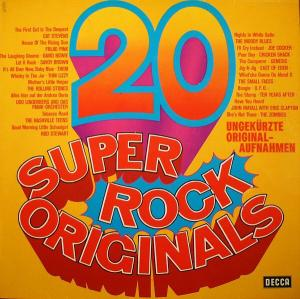 20 Super Rock Originals - Cover