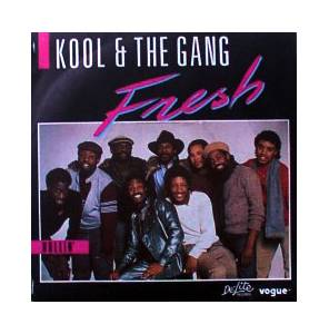 Kool & The Gang: Fresh - Cover